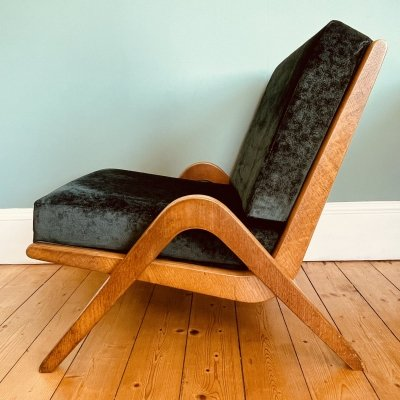 Iconic Morris of Glasgow Boomerang Chair by Neil Morris, 1950s
