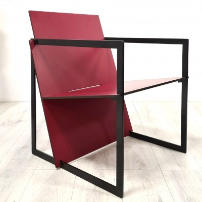 Minimalist design Spectro lounge chair by Hank Kwint for Lourens Fisher, 1990s