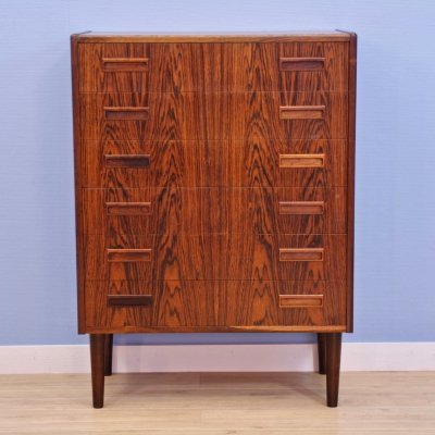 Danish chest of drawers in rosewood, 1960s