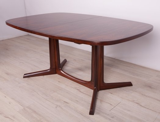Mid-Century Rosewood Dining Table by Niels Otto Møller for Gudme Møbelfabrik, 60s