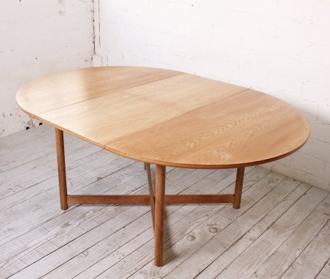Retractable Dining Table in Oak, 1960s