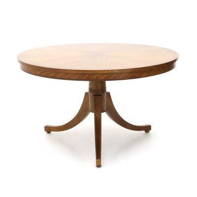 Walnut table by Paolo Buffa executed by Marelli & Colico, 1950's