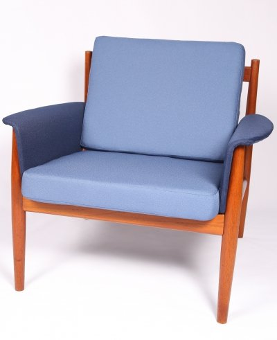Midcentury armchair by Grete Jalk for France & Son, 1960s
