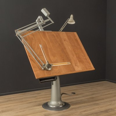 1960s drawing table by Nestler & Nike