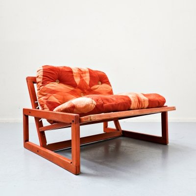 Mid-Century Lounge Chair 'Carlotta' by Tobia & Afra Scarpa for Cassina, Italy 1960s