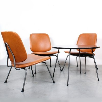 Seating group by W. Gispen for Kembo, 1960s