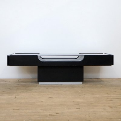 Space age coffee table with drawers