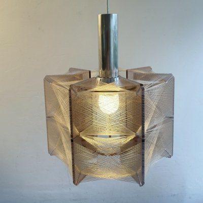 Hanging lamp by Paul Secon for Sompex, 1970s