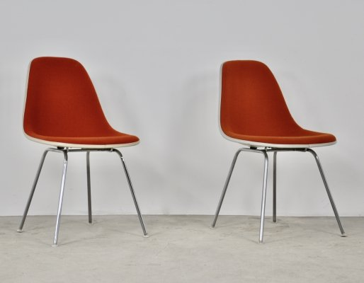 Dining Chairs by Charles & Ray Eames for Herman Miller, 1960s