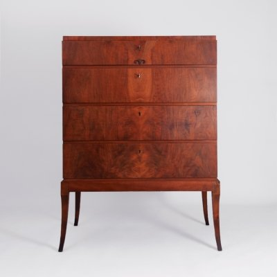 Vintage chest of 4 drawers, 1940s