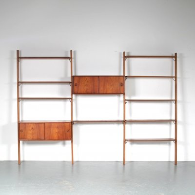 1950s William Watting system cabinet for Fristho, Netherlands