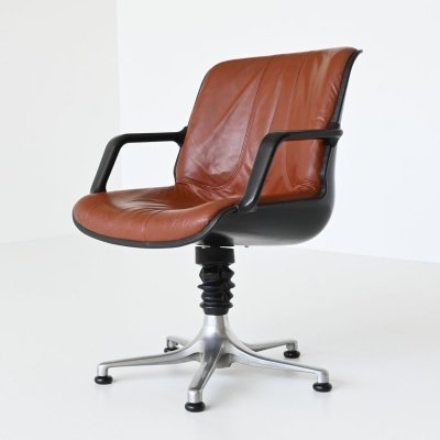 August Froscher office chair by Burkhardt Vogtherr, Germany 1970