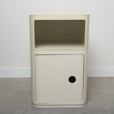 Plastic Nightstand by Anna Castelli for Kartell, 1970s