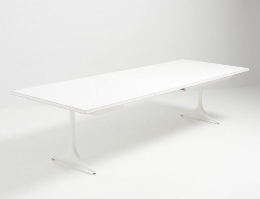 Pedestal Dining Table by George Nelson for Herman Miller, USA 1950's