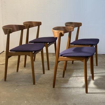 Set of 4 dining chairs by Farstrup, Danish design 1960's