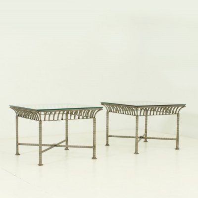 Pair of Neoclassical Side Tables, 1960's