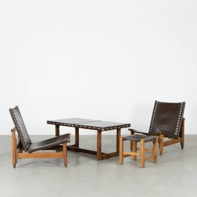 Seating group by Werner Biermann for Arte Sano, 1960s