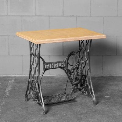 Singer side or accent table, 1920s