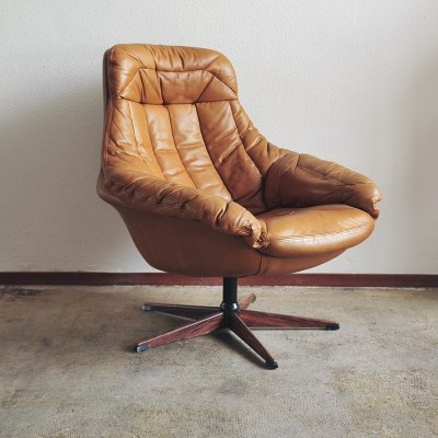 Swedish swivel chair by Lystolet Indystrie