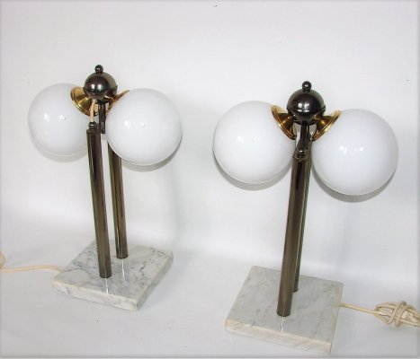 Pair of Kabo table lamps, 1980s
