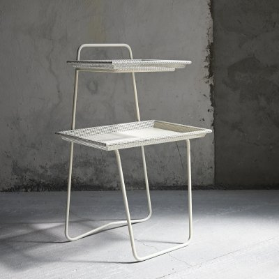 Two tiered side table by Mathieu Mategot, 1950s