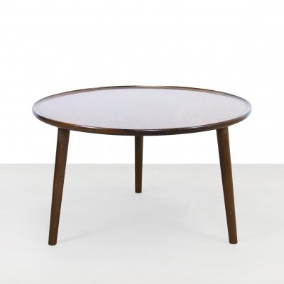 Round coffee table by Luno Mobler Aarhus, Denmark
