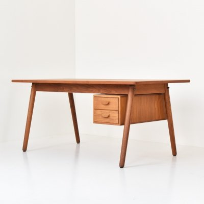 Rare desk / dining table by Poul Volther for FDB Mobler, Denmark 1950's