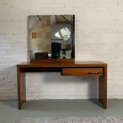 Modernist French Rosewood Dressing Table, 1930's
