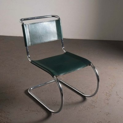 S 533 / MR10 side chair by Mies van der Rohe for Thonet, 1980s