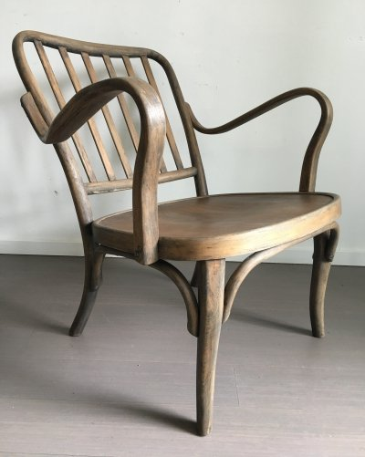 Model 752 lounge chair by Josef Frank for Thonet, 1920s