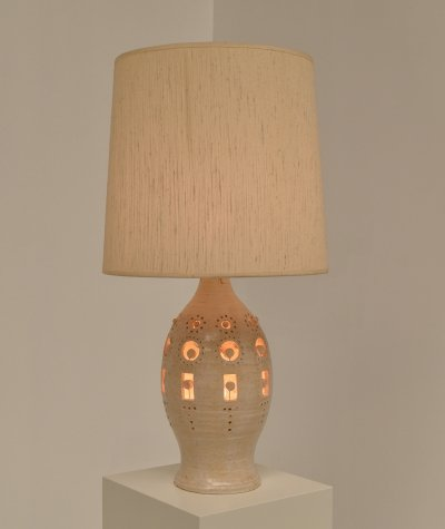 Ceramic Table Lamp by Georges Pelletier, 1970s