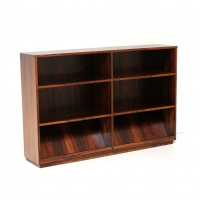 Vintage bookcase cabinet in rosewood, 60s-70s