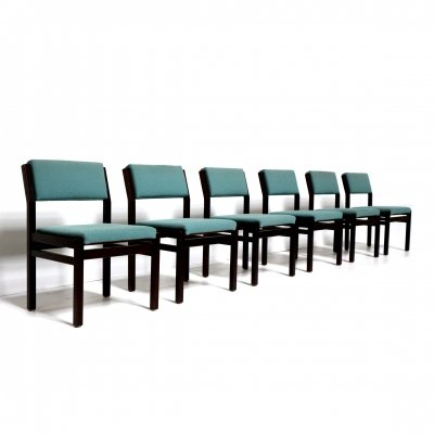 Set of 6 vintage design 'Japanese Series' chairs by Cees Braakman for Pastoe, 1960s
