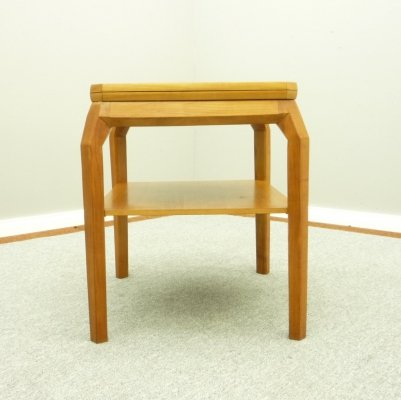 Anthroposophical Cherry Wood Gaming Table by Felix Kayser, 1950s