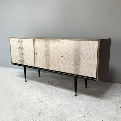 1960's mid century melamine sideboard by Berry Furniture