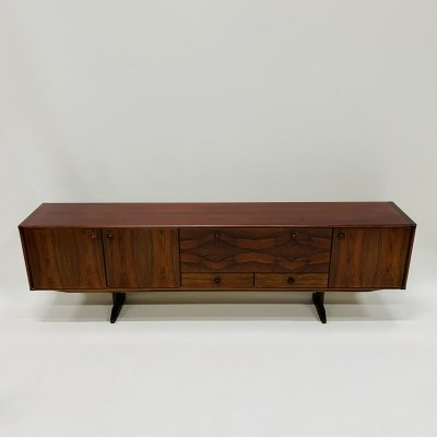 XXL rosewood sideboard by Topform, Netherlands 1960s