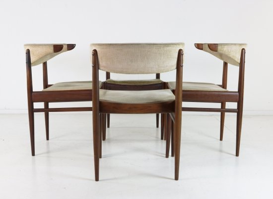 Set of 4 AWA dining chairs, 1960s