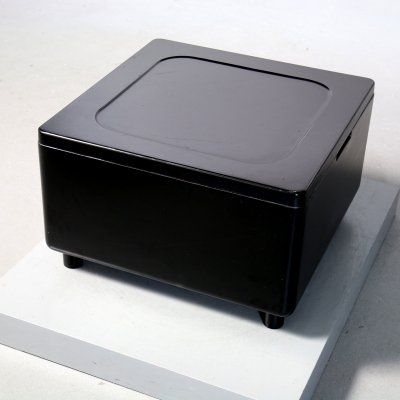Black Container 620 by Dieter Rams for Vitsoe, 1970s