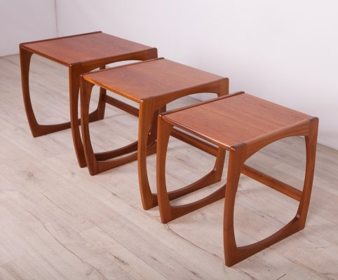 Set of 3 Nesting Tables by Victor Wilkins for G-Plan, 1970s