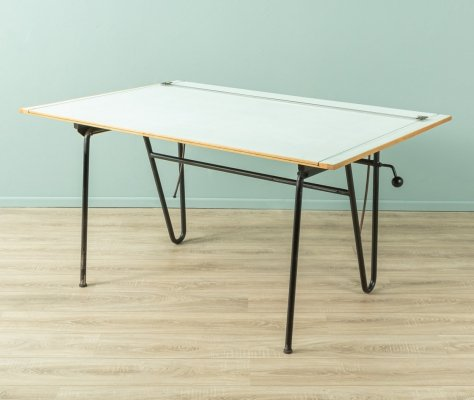 Vintage desk/drawing table, Germany 1950s