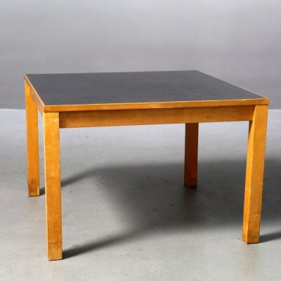 HL Table with Linoleum Table Top by Ferdinand Kramer, 1960s
