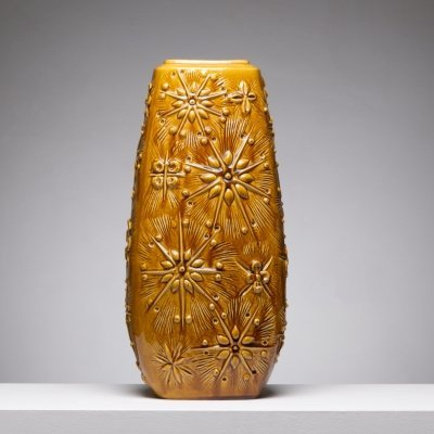 Large Cosmos vase by Scheurich, 1960s