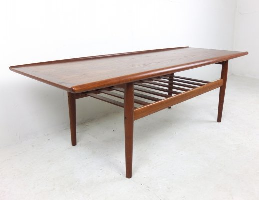 Large Coffee Table by Grete Jalk for Glostrup Møbelfabrik, 1960s