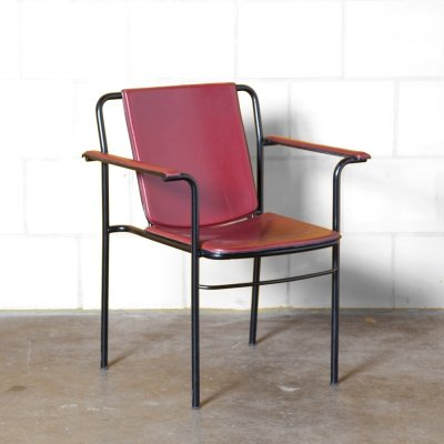 Red Movie Chair by Mario Marenco for Poltrona Frau, 1990s