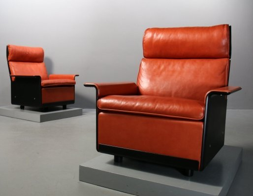 Chair Programme 620 lounge chairs by Dieter Rams for Vitsoe, 1990s