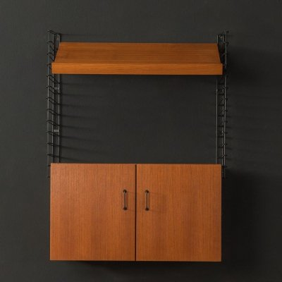 1960s wall shelf by Musterring