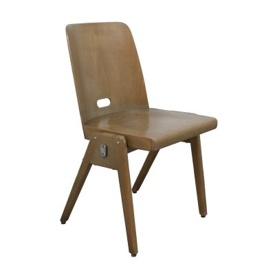 Wooden chair by Bombenstabil, 1960s