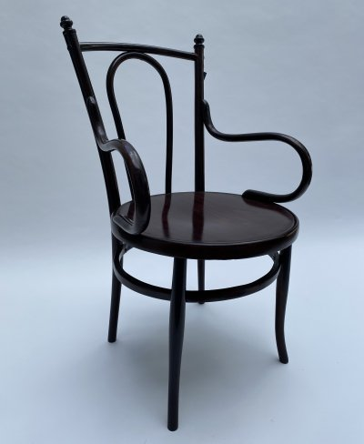 Large Thonet office chair, 1930s