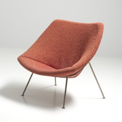 'Oyster' Easy Chair by Pierre Paulin for Artifort, Netherlands 1950's