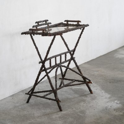 Aesthetic movement twig table, 1920s